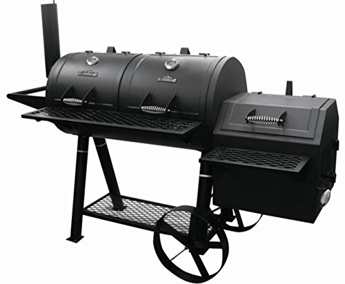rivergrille rancher's grill, stick burner smoker, best bbq smokers