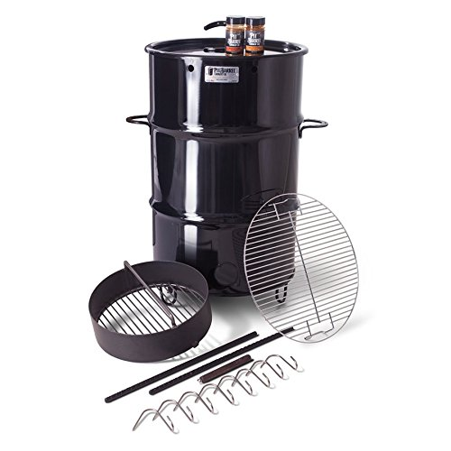 pit barrel smoker, charcoal smoker