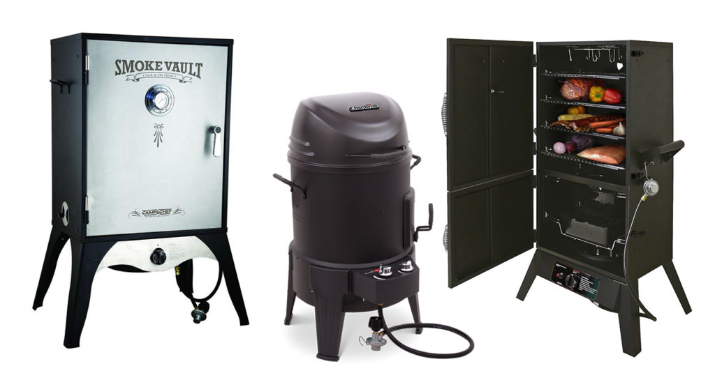 best propane smokers, gas smokers, grill smoke bbq